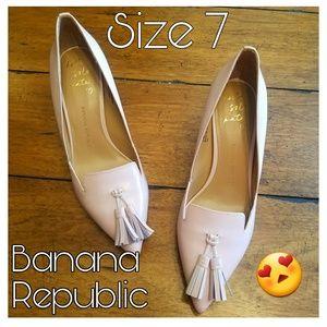Pink Banana Republic Heels size 7